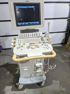 Philips 2010 Hd11 Xe Ultrasound Ob gyn Shared System C5 2 C8 4v Transducer 3d 4d
