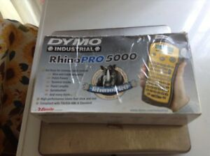 Dymo Rhinopro 5000 Industrial Handheld portable Label Maker