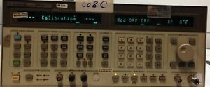 Hp 8664a Synthesized Signal Generator 0 1 3000mhz Options 001 004