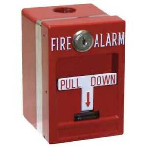 Edwards Signaling Fire Alarm Weatherproof Pull Station Mpsr2 s45w ge