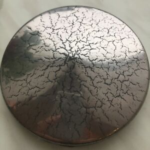 Antique Cracked Silver Powder Coating Paint 1lb 450g