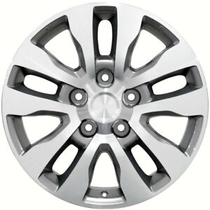 20 Toyota Land Cruiser Style Replacement Rims Wheels Silver Mach D 69533 Set