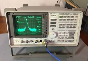 Hp Agilent 8563e 9 Khz 26 5 Ghz Spectrum Analyzer Calibrated Warranty