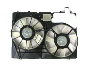 For Lexus Rx 350 07 08 09 Radiator A c Condenser Cooling Fan With Control Module