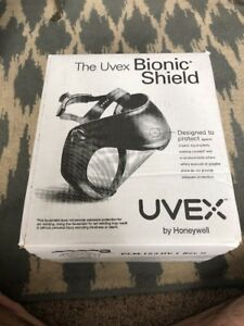 Uvex Bionic S8500 Safety Face Shield Clear Polycarbonate Visor Z87