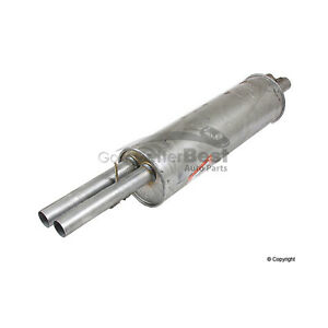 One New Ansa Exhaust Muffler Rear Me1407 1124913401 For Mercedes Mb