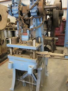 Heavy Duty Punch Press Industrial Metalworking Fabrication Tooling 50 Ton Obi