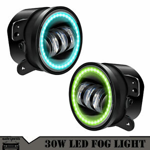 2005 2010 Jeep Grand Cherokee Clear Projector Fog Lights Bumper Lamps Pair