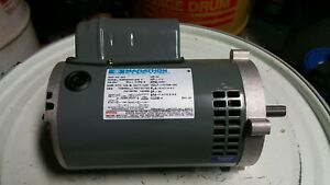 Marathon Electric Motor 56b34d144 1 1 2 Hp 3450 Rpm 115 208 230 Volts 56c 363