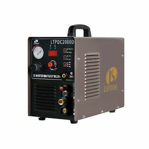 Lotos Technology 04 zvgr 0o8d Lotos Ltpdc2000d Plasma Cutter Tig Stick Welder