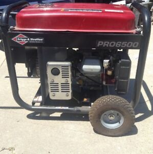 Briggs And Stratton 30710 6500 watt 420cc Gas Powered Portable Generator