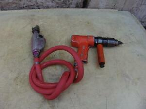 Cleco 1 2 Inch Chuck Air Drill Works Well 3
