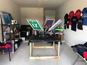 Ryonet Screen Printing Equipment great Condition