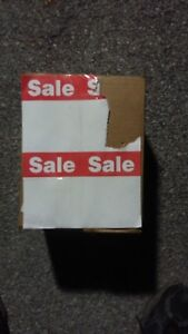 1000 Rr Donnelley Merchandise Price Sale Display Tags 8 5 X 11 Red