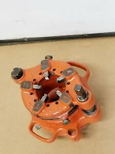 Ridgid 141 2 1 2 4 Receding Gear Pipe Threader Threading Use W 300 535 700