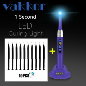 Purple Dental Led Curing Light 1 Second Cure 10x Gingival Barrier Gum Protector