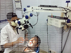 Inclinable Dental Microscope 5 Step With Led Light Mars152