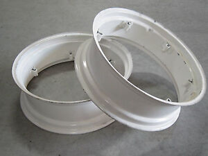 2 New Wheel Rims 9x28 6 loop Fit Many Allis Chalmers Ed40 Rc Wc Wf Wd 9 28