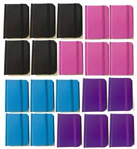 Bulk Lot 20 Small Hardcover Pocket Notebook Journals 96 Pages 4 5 X 3 Ruled