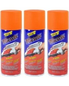 3 Pack Perfomix Plasti Dip 11301 Rubber Coating Spray Go Mango 11oz