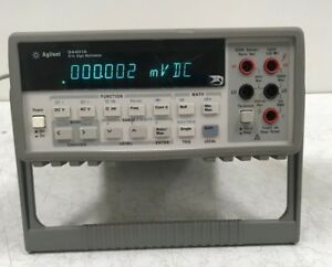 Agilent 34401a Digital Multimeter 6 1 2 Digit
