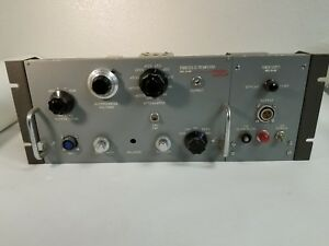 Sanborn 150 400 Power Supply 150 1800 Stabilized Dc Preamplifier Many Tubes