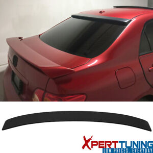 Fits 09 13 Toyota Corolla Sedan 4 door Factory Rear Roof Spoiler Wing Abs