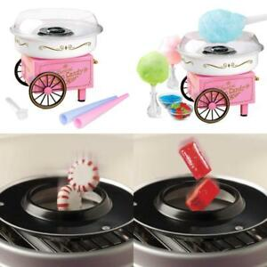 Commercial Cotton Candy Machine Maker Sugar Floss Candies Electric Machines New