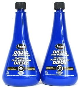 3 Prestone Diesel Fuel Treatment Improves Engine Performance Purge Deposit 16 Oz