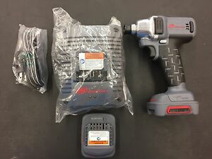 New Ingersoll Rand 1 4 Drive 12v Cordless Impact W 2 Batteries Charger