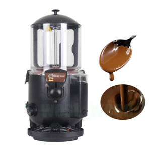 10l Electric Hot Chocolate Dispenser Black Chocolate Machine Chocofairy 1000w