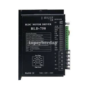 Bld 750 Bldc Dc Brushless Motor Driver Controller Cnc 750w With Hall