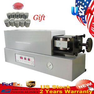 Dental Lab Automatic Flexible Partial Denture Injection System Unit Machine gift
