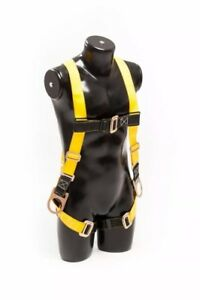 Safety Fall Protection Kit Full Body Harness With Safety Cord Guardian Fall