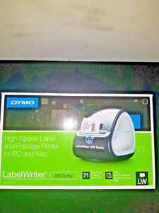 Dymo labelwriter 450 turbo label thermal printer New In Box