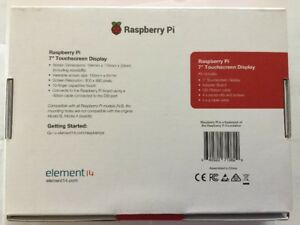 New Raspberry Pi 7touch 7 Touchscreen Display Element 14