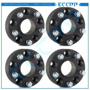 4pcs 2 50mm 5x5 5x127 Hubcentric Wheel Spacers Fits 2007 2017 Jeep Wrangler