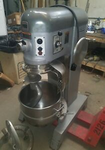 Hobart 60 Qt P 660 Mixer 2 5 Hp With Stainless Bowl And Attachments