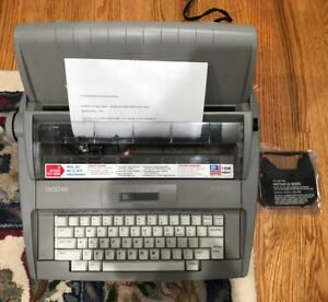 Brother Sx 4000 Electronic Lcd Display Typewriter Used Twice