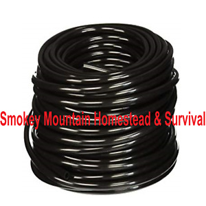 1 4 Tubing For Push To Connect Compression Fittings Black 10 Ft Cut Pe0417k