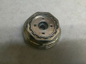 1 Gold Western Wire Wheels 30 Spoke Center Cap Tru True Tru spoke Crager Cragar