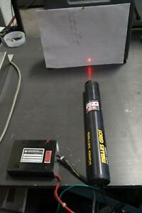 Melles Griot Hene Laser 05 lhp 321 4 With Power Supply 2600 Vdc