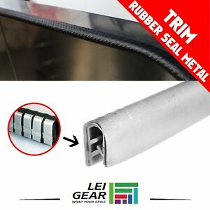 Auto Car Van Trunk Window Rubber Seal Weather Stripping Trim And Edge White 180