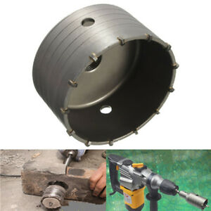 6 5 16in Hollow Core Drill Alloy Hole Saw Cutter For Concrete Brick Wall