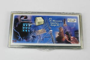 Atc 2 100a Rf Microwave Capacitors Design Kit 1 0 10pf Value Missing as Is