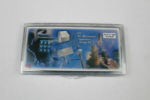 Atc 27 600s Rf Microwave Capacitors Design Kit 10 100pf As Is
