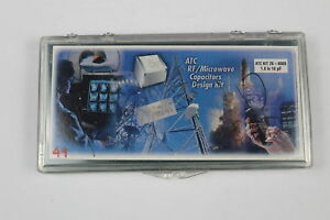 Atc 26 600s Rf Microwave Capacitors Design Kit 1 0 10pf Value Missing as Is