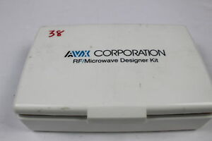 Avx Smd Capacitor Rf microwave Designer Kit as Is