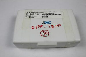 Avx 0207 kit 1501 Capacitor Kit 0 1pf 1 5pf Smd as Is