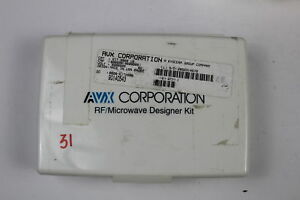Avx Kit 2000 Uz Capacitor Rf microwave Designer Value Missing as Is